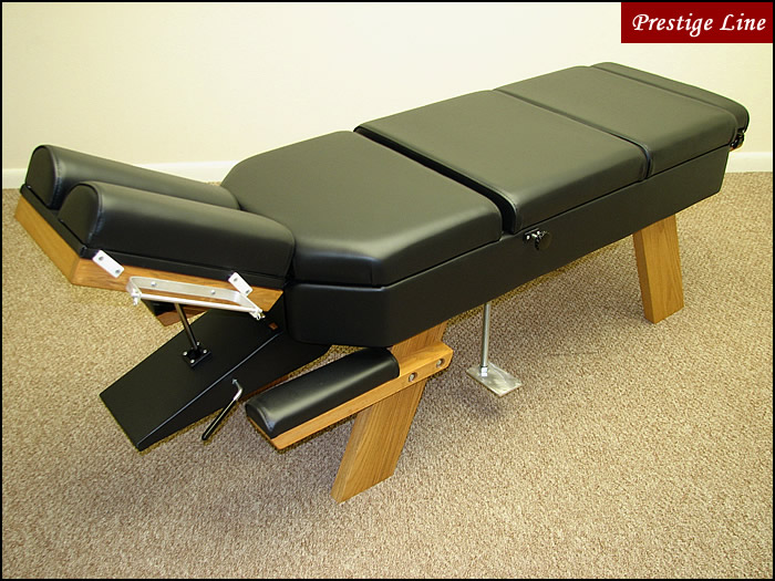 Propped Thoracic Chiropractic Tables Prestige Line